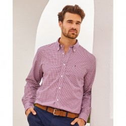 Tommy Hilfiger 13H1863 100s Two-Ply Gingham Shirt