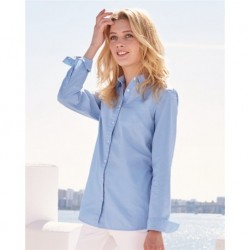Tommy Hilfiger 13H4377 Women's Capote End-on-End Chambray Shirt