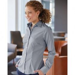 Van Heusen 13V5050 Women's Stretch Spread Collar