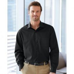 Van Heusen 13V5052 Broadcloth Point Collar Solid Shirt