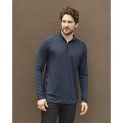 Weatherproof 21435 CoolLast Ultra Lux Quarter-Zip Pullover