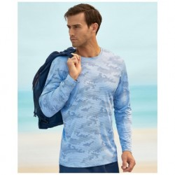 Paragon SM0217 ParagonXP Pompano Adult Full Sublimated Long Sleeve Performance Tee - Camo Print