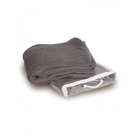 8707 Alpine Fleece 8707 Micro Coral Fleece Blanket GREY