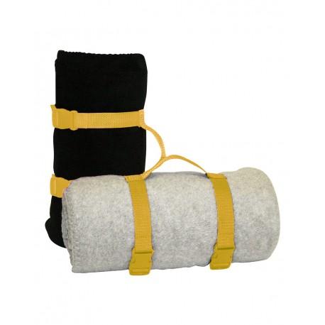 8820 Alpine Fleece 8820 Blanket Strap BRIGHT YELLOW