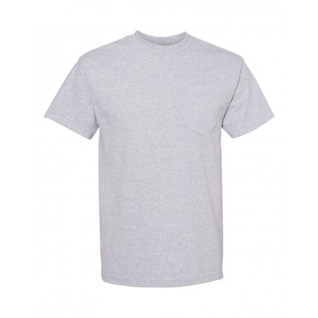 1305 ALSTYLE 1305 Classic Pocket T-Shirt ATHLETIC HEATHER