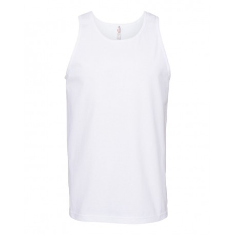 1307 ALSTYLE 1307 Classic Tank Top WHITE