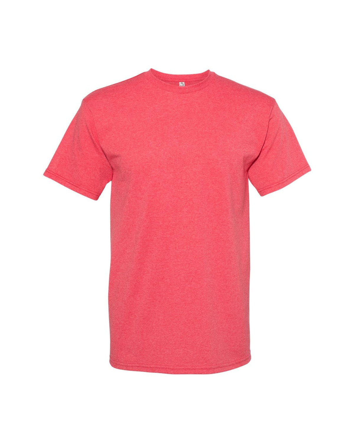 1701 Alstyle RED HEATHER