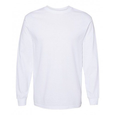 1904 ALSTYLE 1904 Heavyweight Long Sleeve T-Shirt WHITE