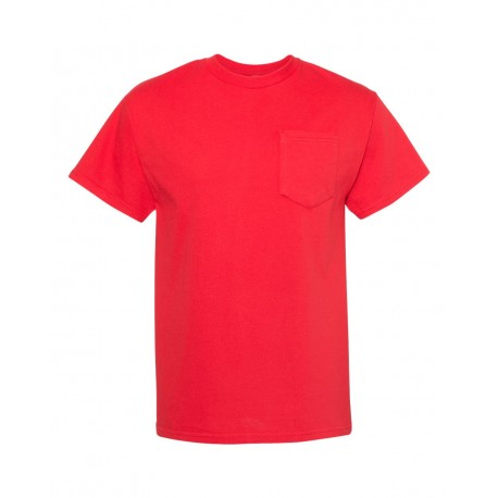 1905 ALSTYLE 1905 Heavyweight Pocket T-Shirt RED