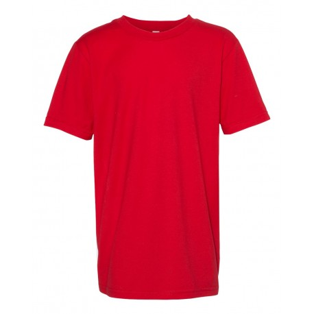 5081 ALSTYLE 5081 Youth Ultimate T-Shirt RED