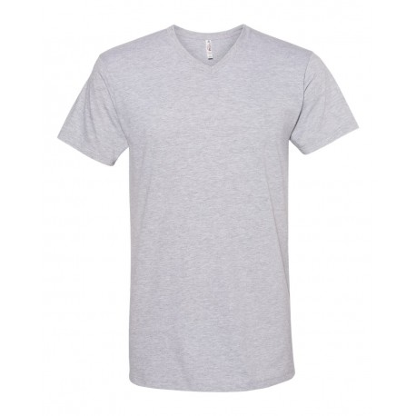 5300 ALSTYLE 5300 Ultimate V-Neck T-Shirt ATHLETIC HEATHER