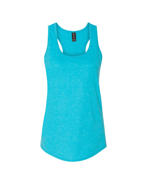 6751L Anvil Heather Caribbean Blue