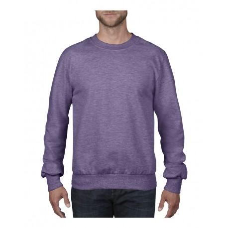 72000 Anvil 72000 French Terry Sweatshirt HEATHER PURPLE