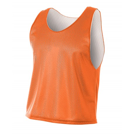 A4N2274 A4 A4N2274 Adult Lacrosse Reversible Practice Jersey ORANGE/WHITE