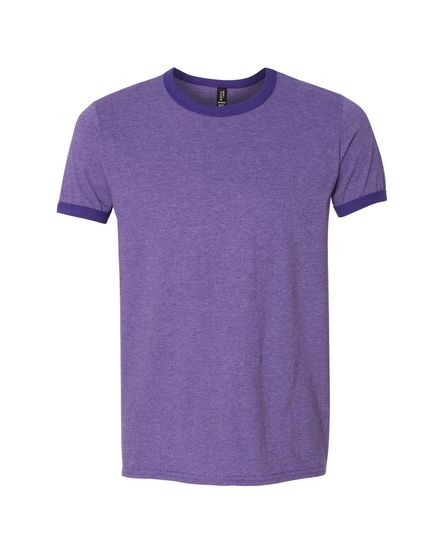 988 Anvil Heather Purple/ Purple