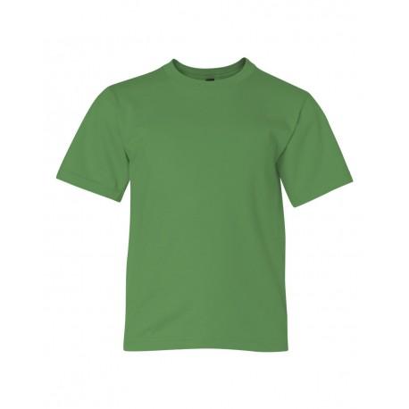 990B Anvil 990B Youth Lightweight T-Shirt GREEN APPLE