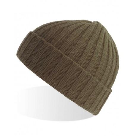 SHOB Atlantis Headwear SHOB Shore - Sustainable Cable Knit Olive (Oliva)