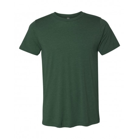 3413 BELLA + CANVAS 3413 Unisex Triblend Tee Solid Forest Triblend