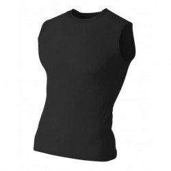 A4 A4N2306 Adult Compression Sleeveless Tee
