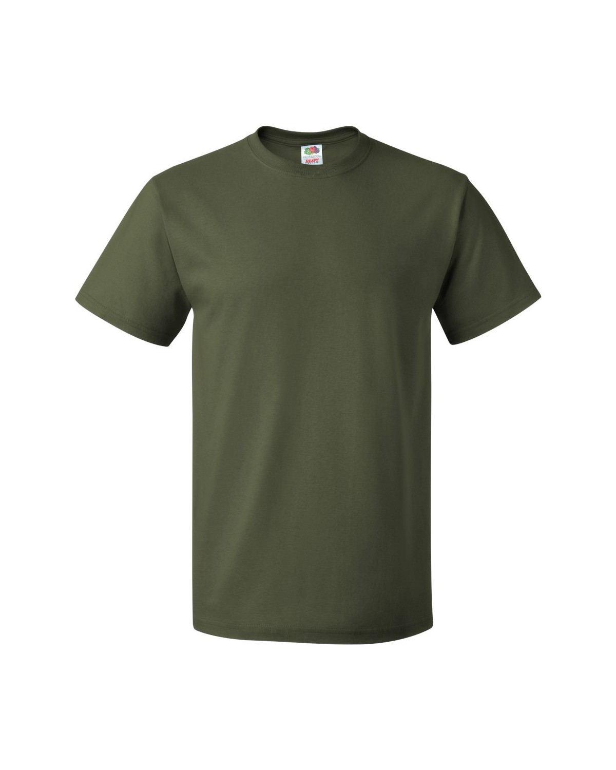 3930R Fruit of the Loom MILITARY GREEN