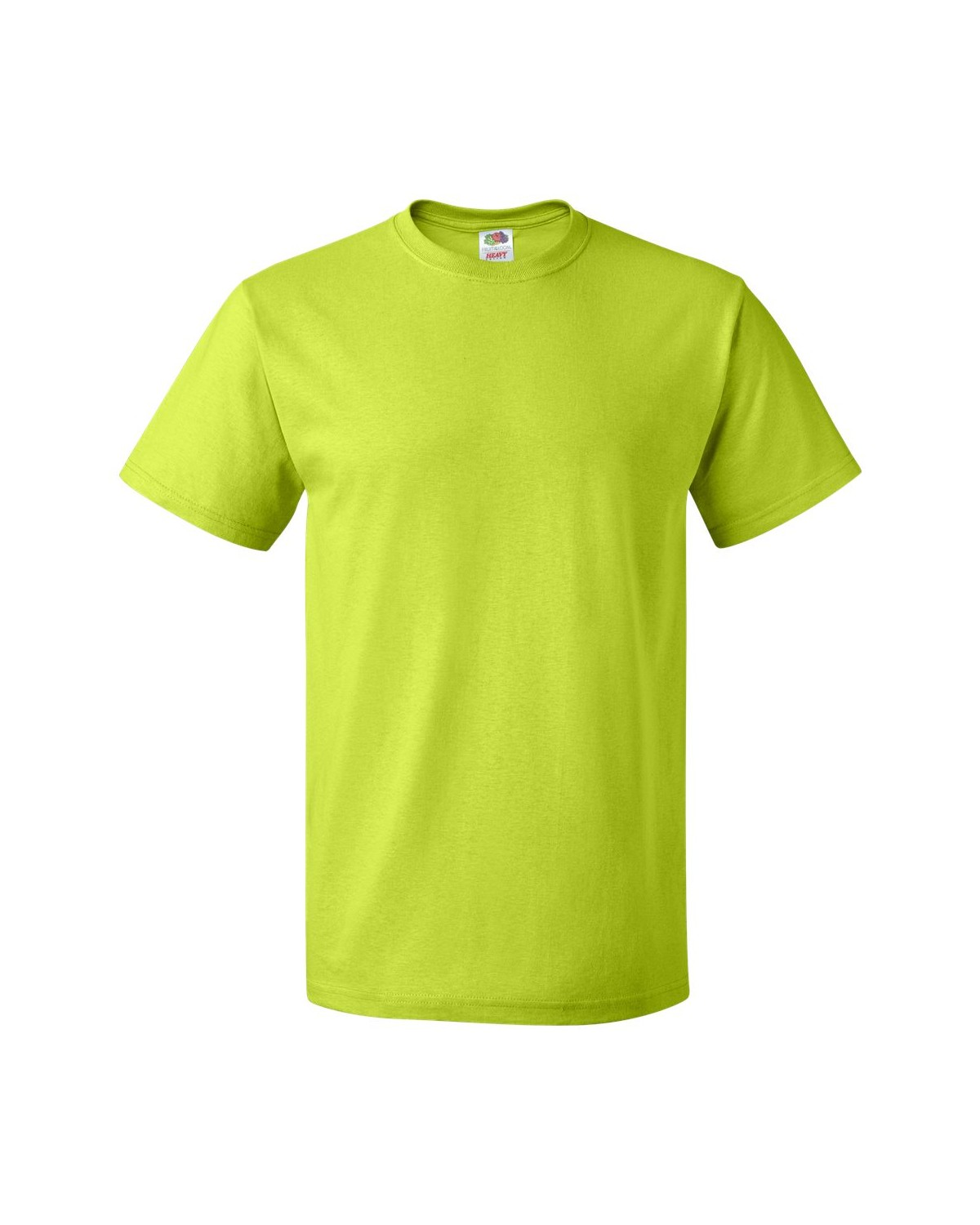 3930R Fruit of the Loom NEON GREEN
