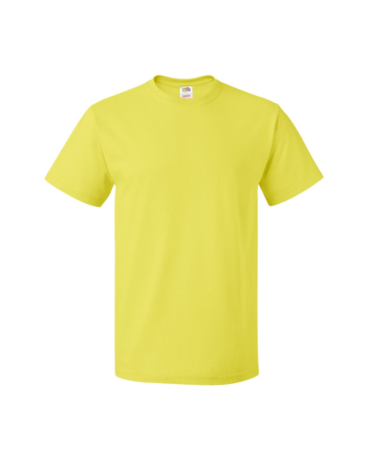 3930R Fruit of the Loom NEON YELLOW