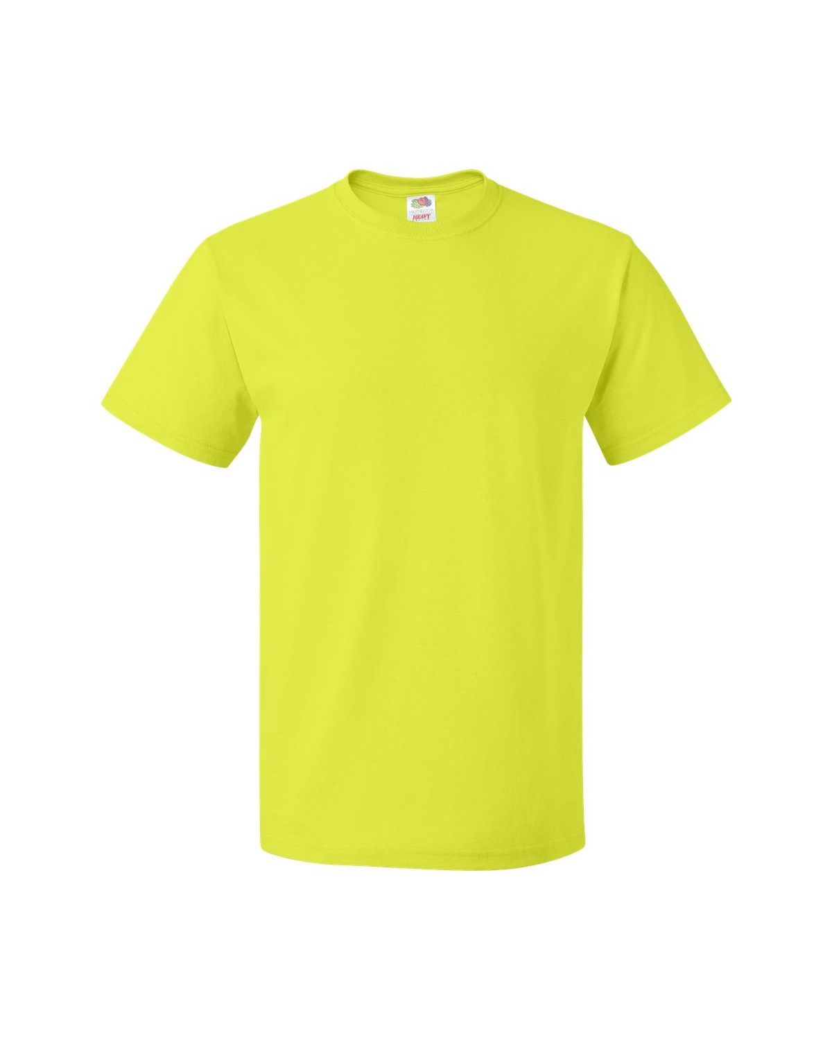 3930R Fruit of the Loom SAFETY GREEN