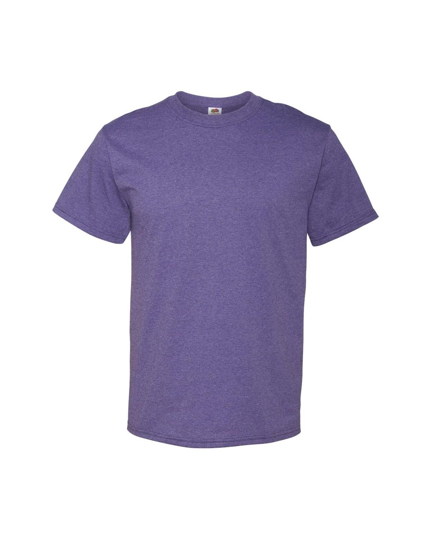 3930R Fruit of the Loom Retro Heather Purple