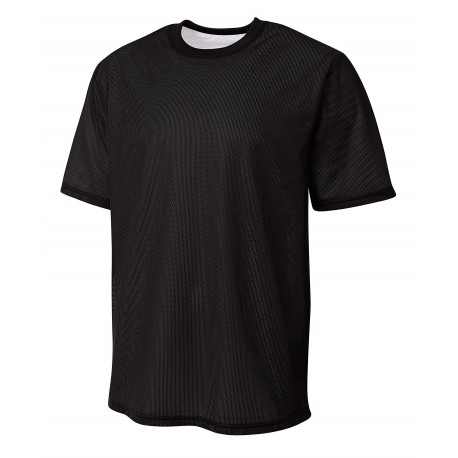 A4N3172 A4 A4N3172 Adult Match Reversible Jersey BLACK/WHITE