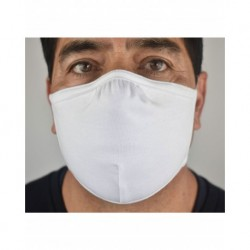 US Blanks USFM47 Double Layer Anti-Microbial Adjustable Mask