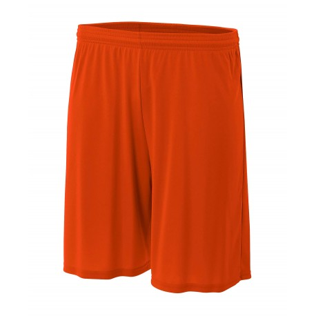 A4N5283 A4 A4N5283 Adult Cooling Performance Short ATHLETIC ORANGE