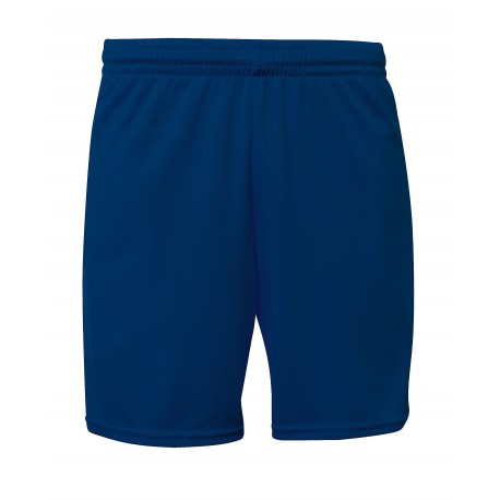 A4N5384 A4 A4N5384 7-Inch Mesh Short with Pockets NAVY