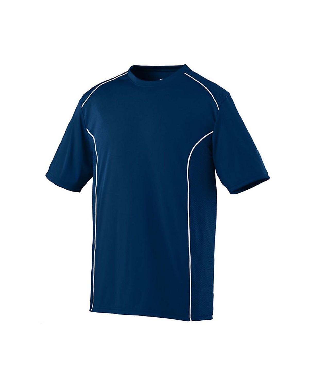 1090 Augusta Sportswear NAVY/ WHITE
