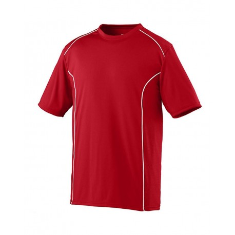 1090 Augusta Sportswear 1090 Winning Streak Crew RED/ WHITE