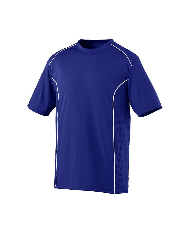 1091 Augusta Sportswear PURPLE/ WHITE