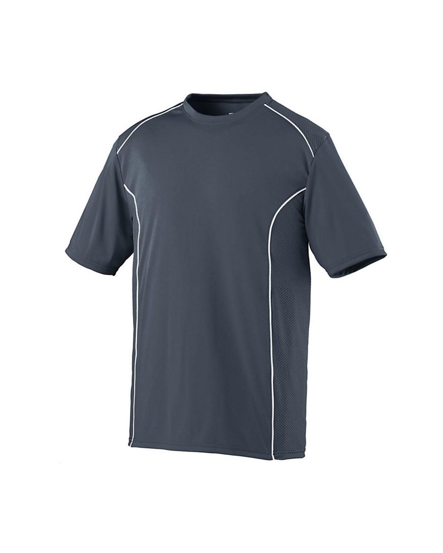 1091 Augusta Sportswear GRAPHITE/ WHITE