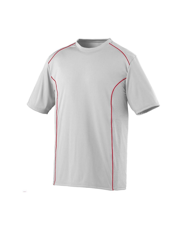 1091 Augusta Sportswear WHITE/ RED