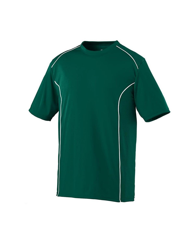 1091 Augusta Sportswear Dark Green/ White