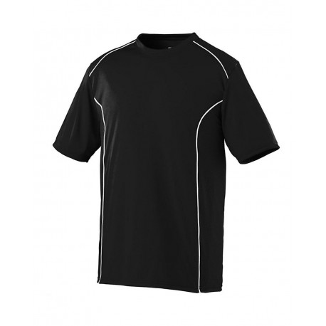 1091 Augusta Sportswear 1091 Youth Winning Streak Crew BLACK/ WHITE