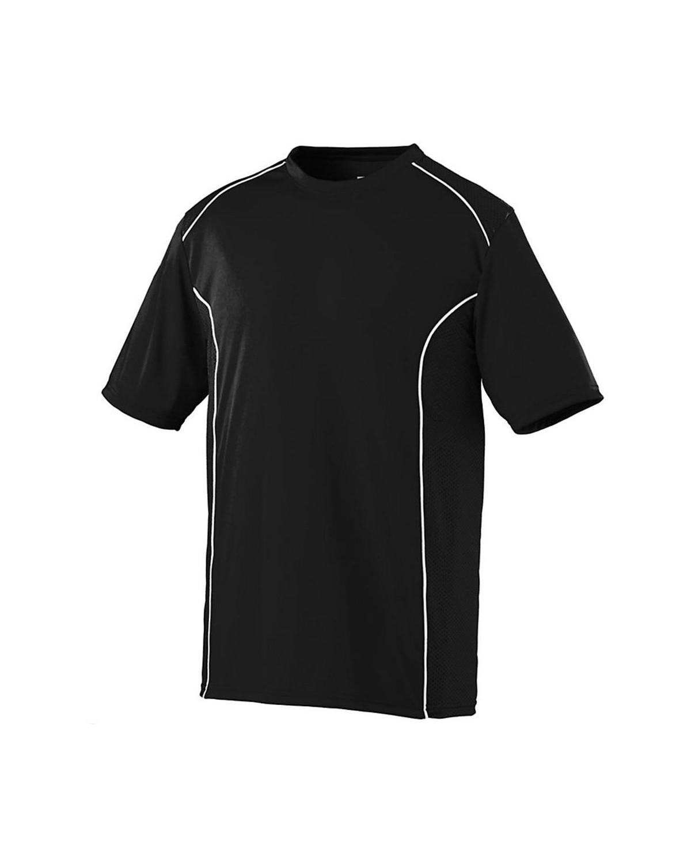 1091 Augusta Sportswear BLACK/ WHITE