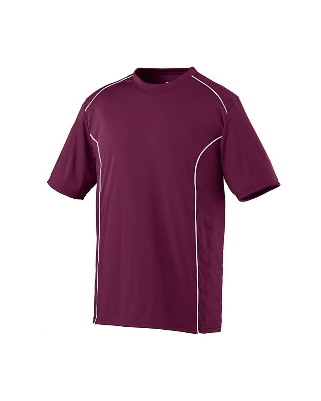 1091 Augusta Sportswear MAROON/ WHITE