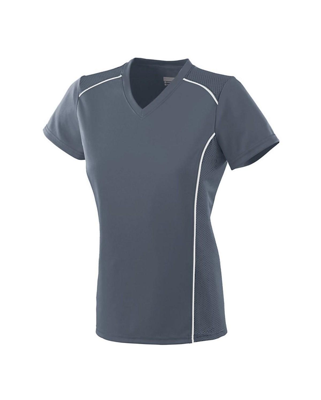 1092 Augusta Sportswear GRAPHITE/ WHITE