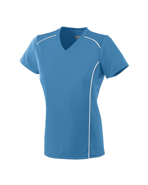 1092 Augusta Sportswear Columbia Blue/ White
