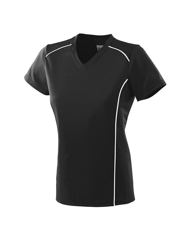 1092 Augusta Sportswear BLACK/ WHITE