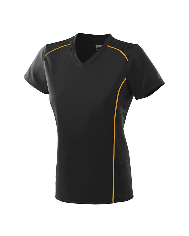 1093 Augusta Sportswear BLACK/ GOLD