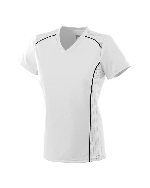 1093 Augusta Sportswear WHITE/ BLACK