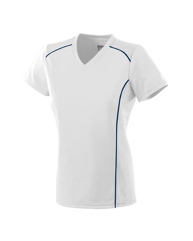 1093 Augusta Sportswear WHITE/ NAVY