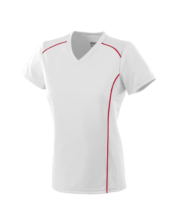 1093 Augusta Sportswear WHITE/ RED