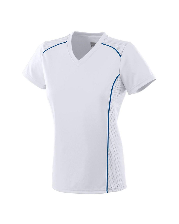1093 Augusta Sportswear WHITE/ ROYAL
