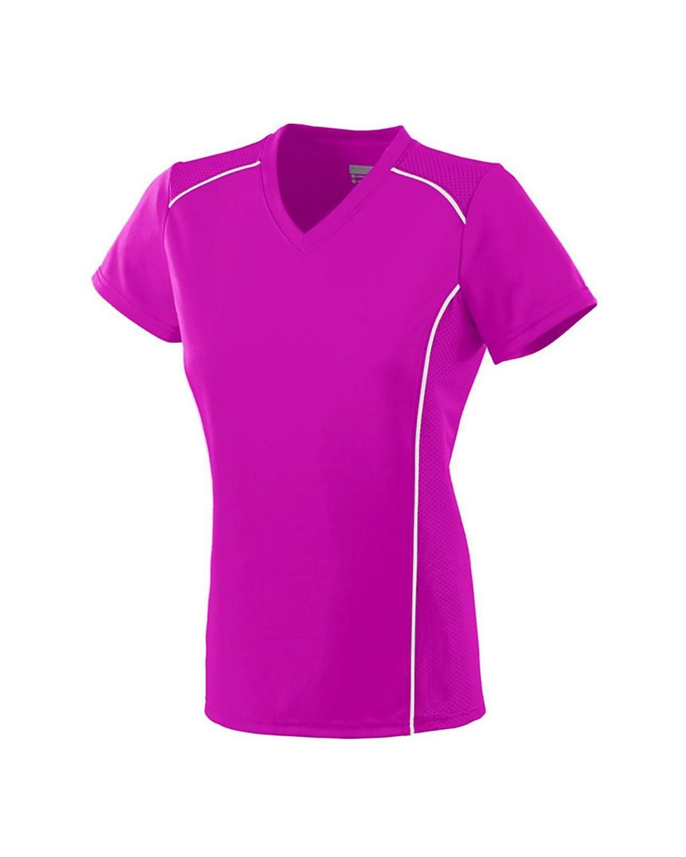1093 Augusta Sportswear Power Pink/ White